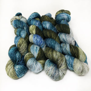 Winter Solstice - 70/30 merino silk single ply