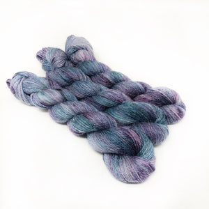 Lilac Breeze - Alpaca Linen Silk DK weight 2 Ply