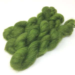 Verdant - thistledown - brushed mohair and silk laceweight