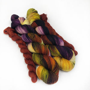 Spruce and it's Uses - sock yarn with mini