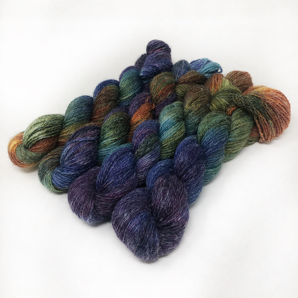 Rarefied - Alpaca Linen Silk DK weight 2 Ply