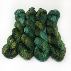 Pine and Ivy  - 70/30 merino silk single ply