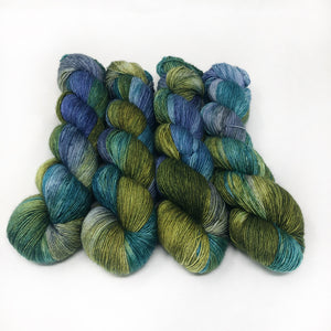 Slyph  - 70/30 merino silk single ply