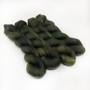Evergreen - 70/30 merino silk single ply