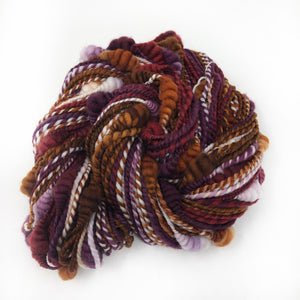 Harvest Mother - beehive textured hand spun
