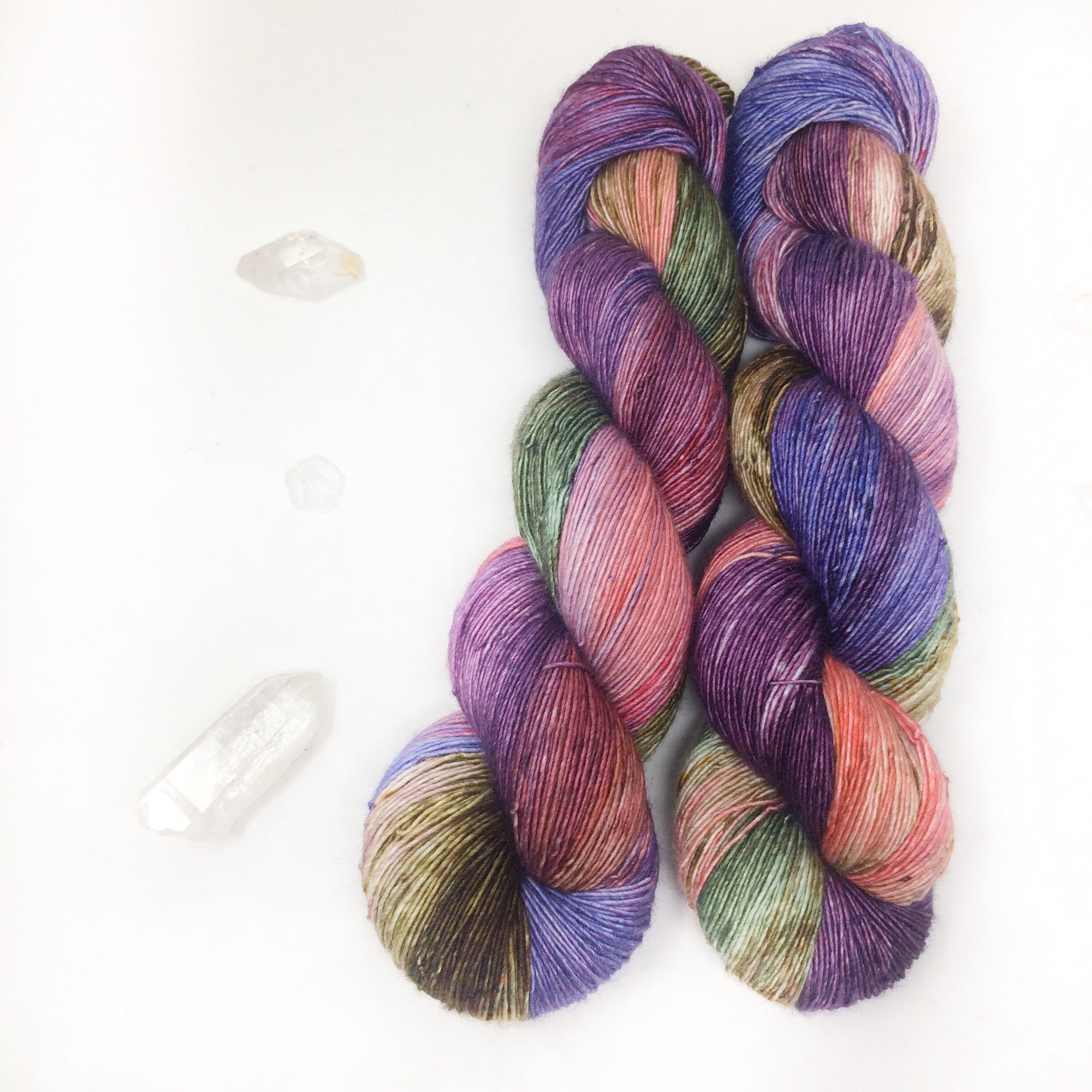 Garden Party - 70/30 merino silk single ply