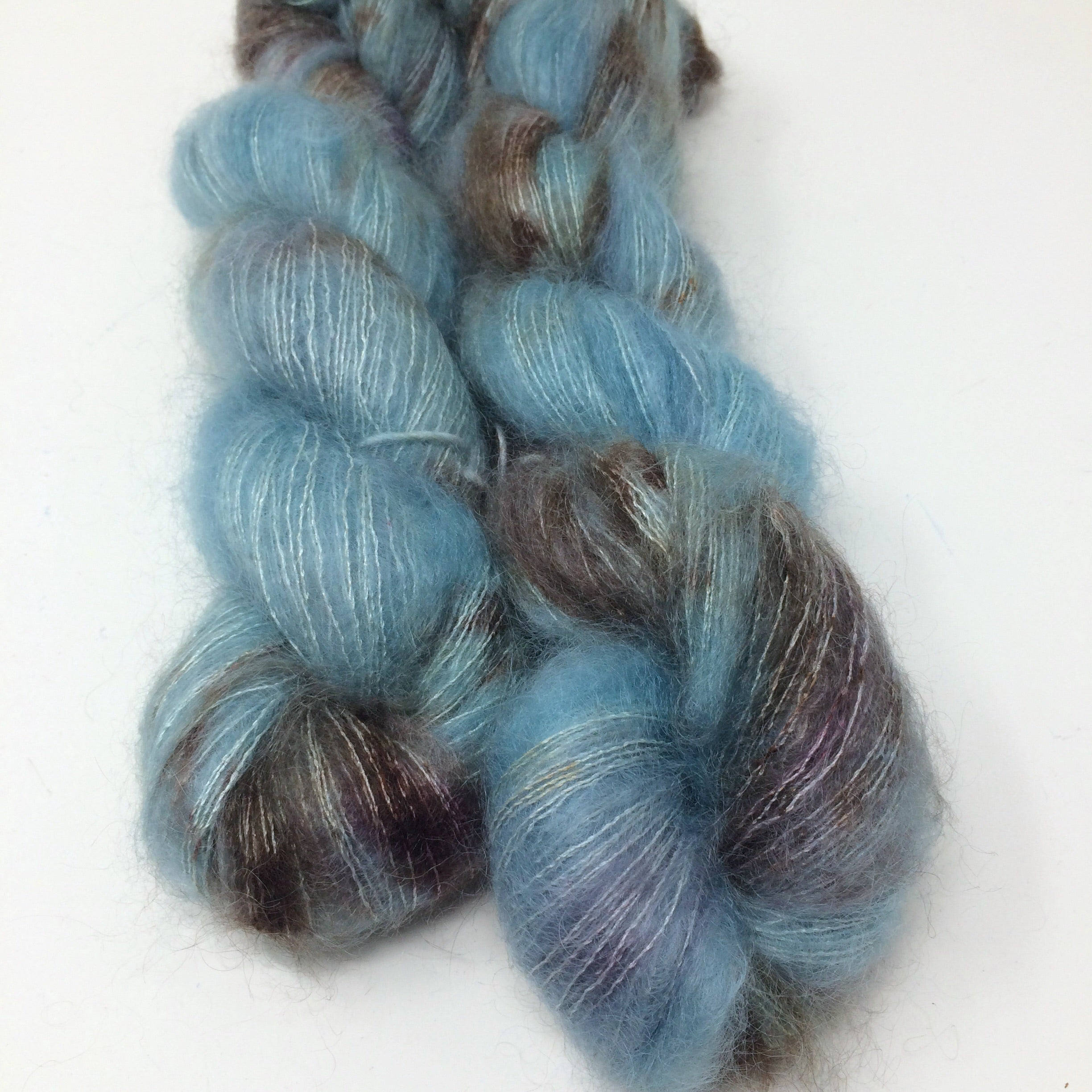 All the Best Parts - brushed mohair and silk laceweight