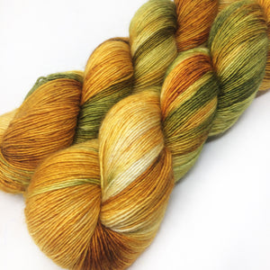 Last Leaf - 70/30 merino silk single ply