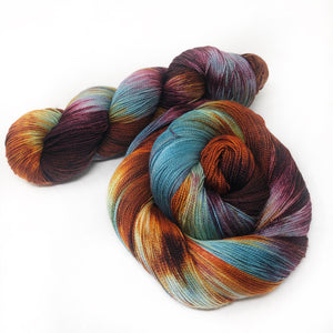 Sultry September - Shawl length skein - 600 yards