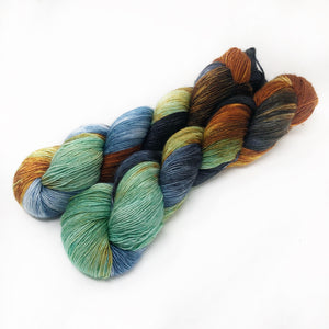 Solstice Fox - 70/30 merino silk single ply