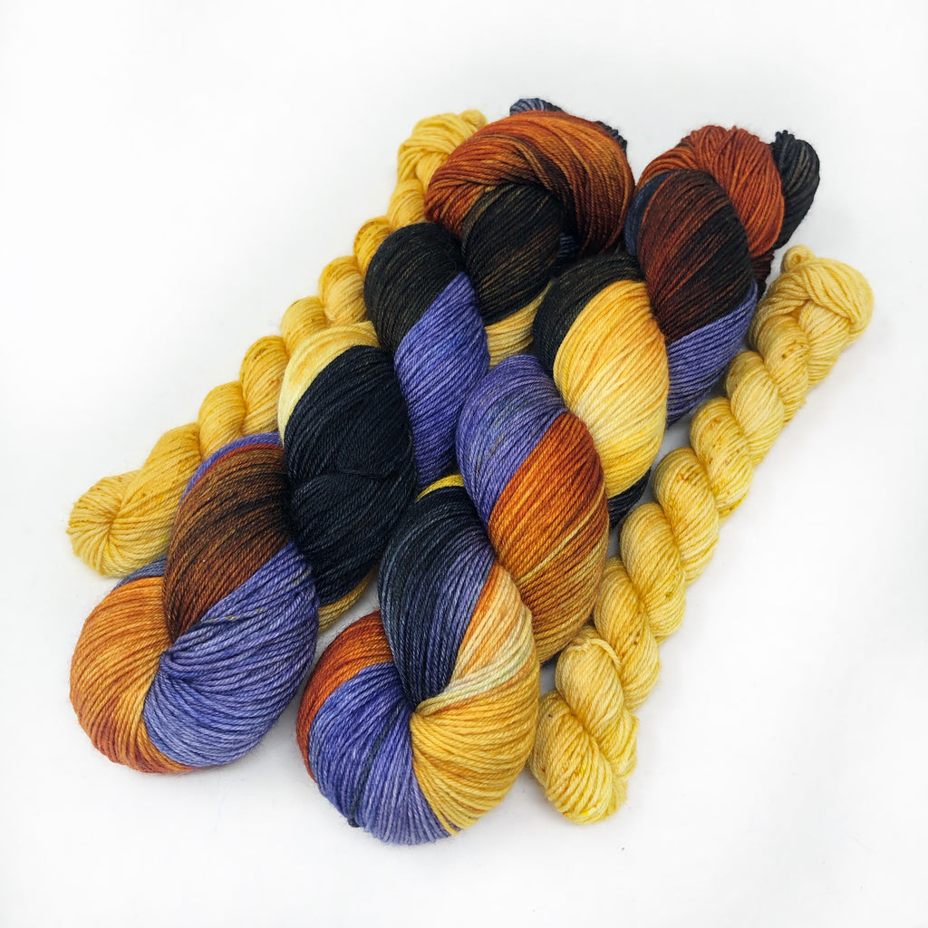 Powerful Magic - sock yarn with mini