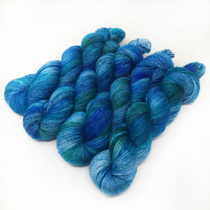 Poseidon - 70/30 merino silk single ply