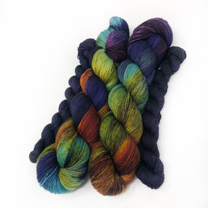 Rarefied - sock yarn with mini
