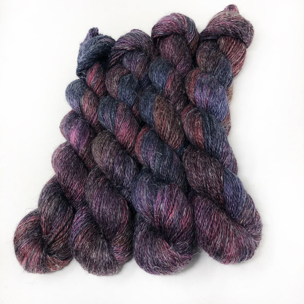 Demeter's Lament- Alpaca Linen Silk DK weight 2 Ply