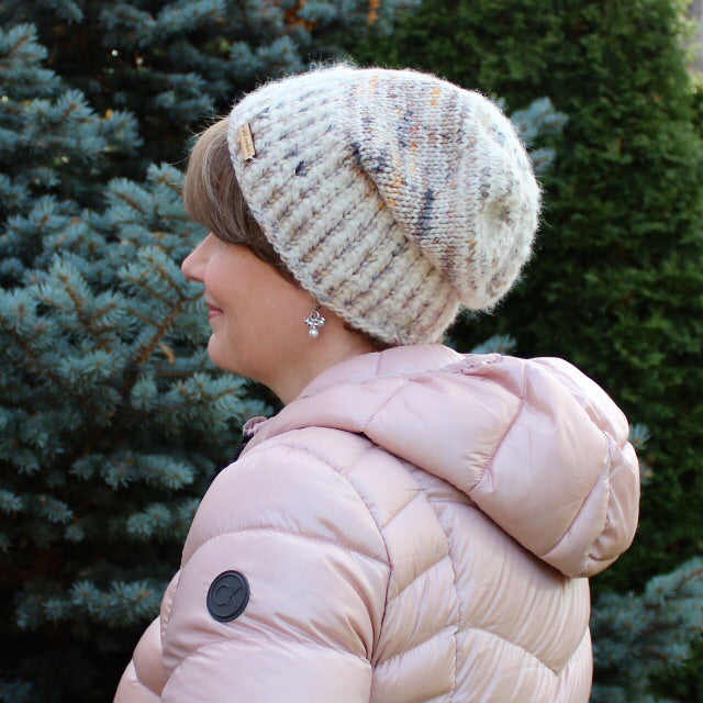 Winter Market Hat Kit, pattern included