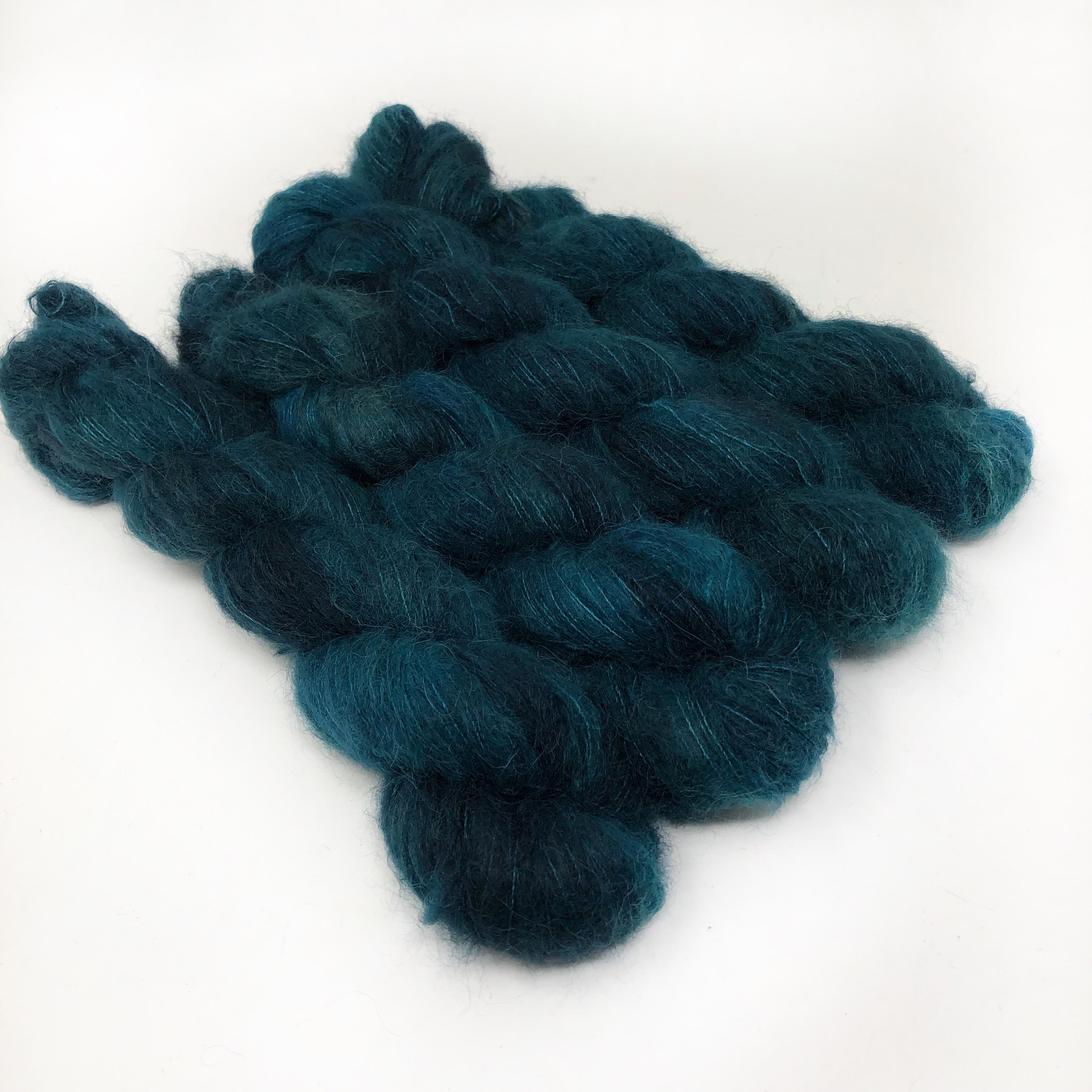 Teal - Halo Silk Laceweight