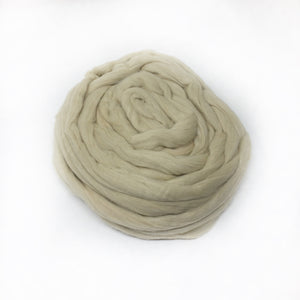 "Natural Green - ""Easy to Spin"" USA grown Cotton"