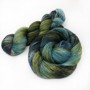 Mossy Bank - Shawl length skein - 600 yards