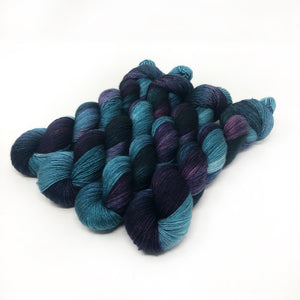 Ocean Depths - 70/30 merino silk single ply