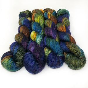 Rarefied - 70/30 merino silk single ply