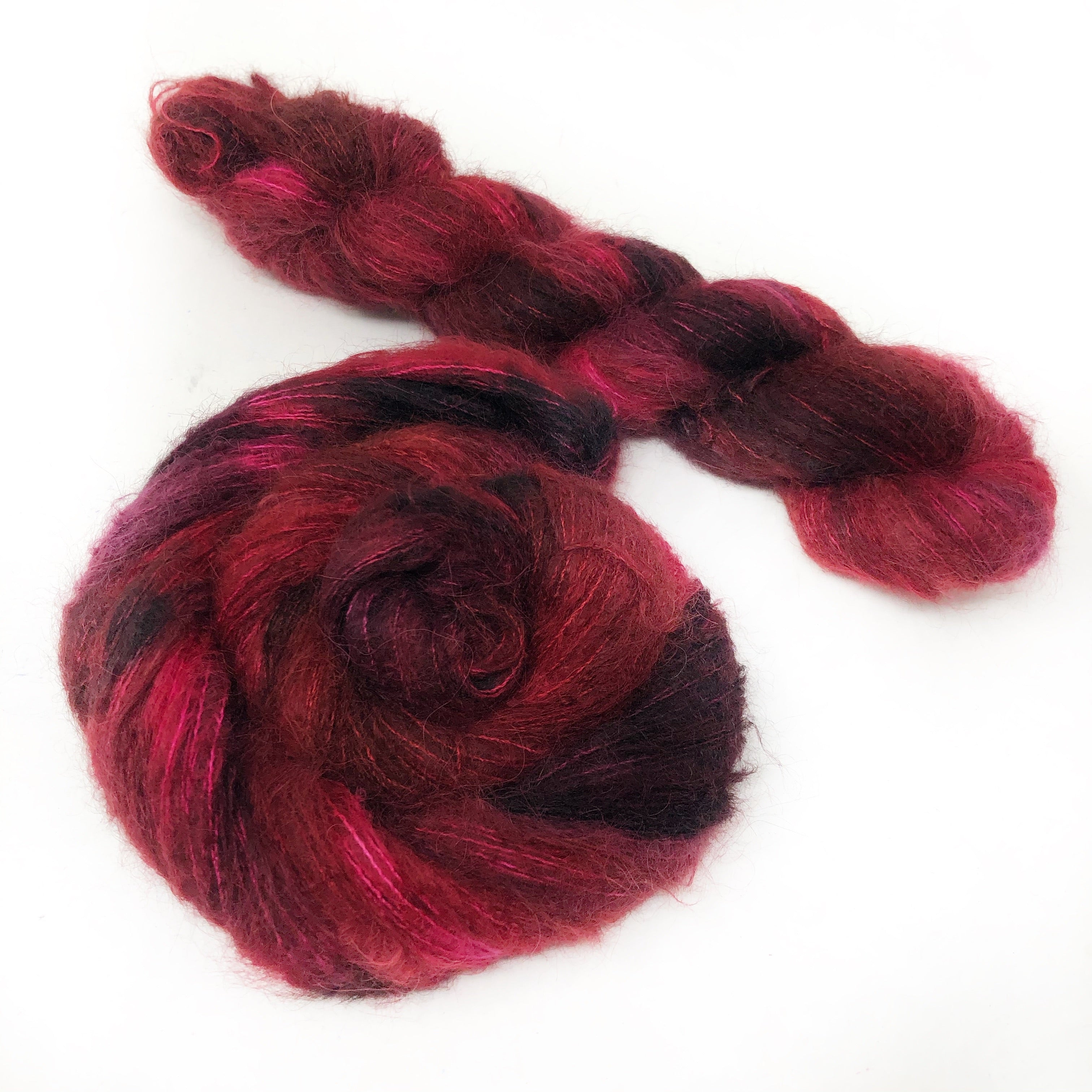 Cherry Cordial - Halo Silk Laceweight