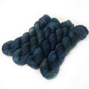 Moonlit Wild - 70/30 merino silk single ply