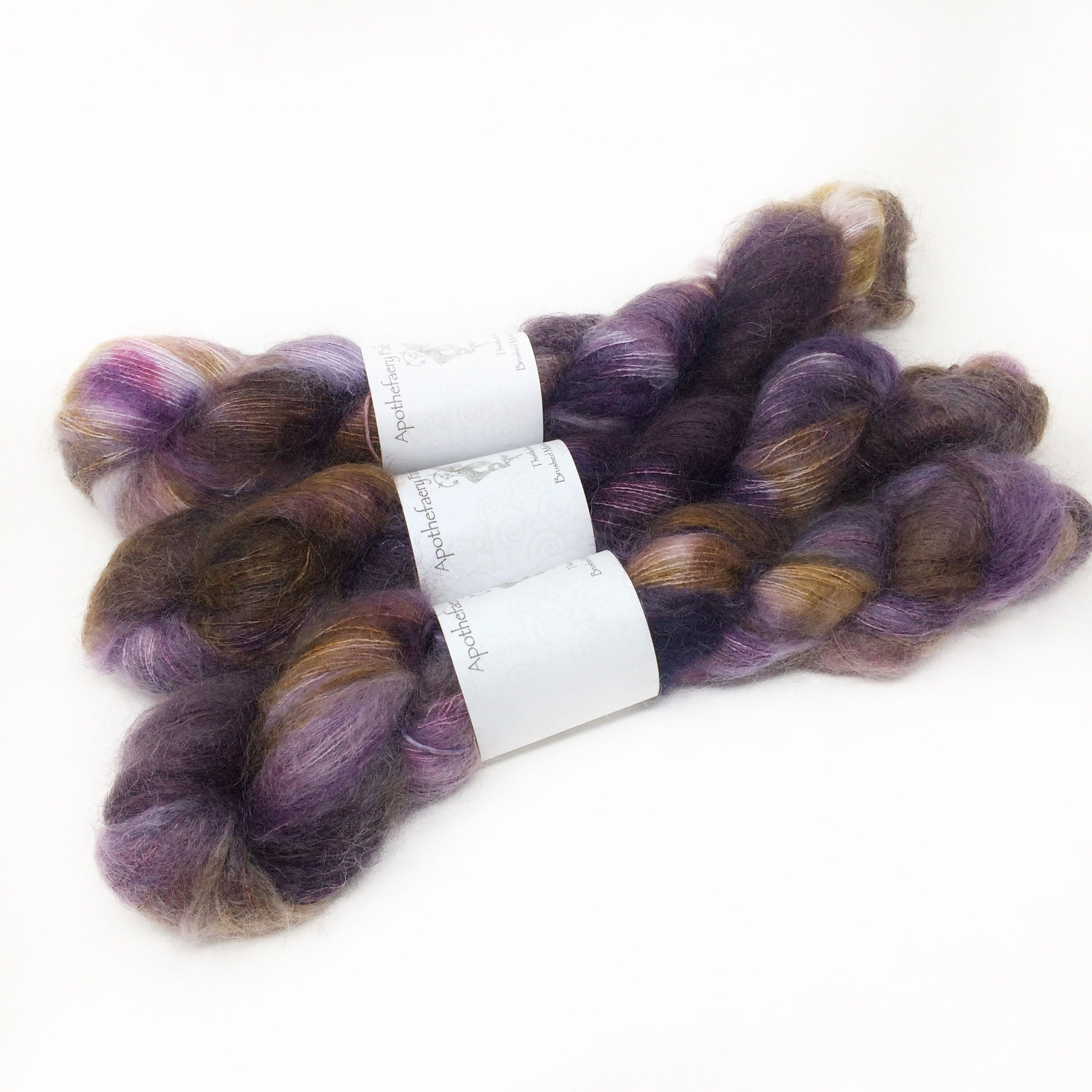 Olgra - brushed mohair and silk laceweight