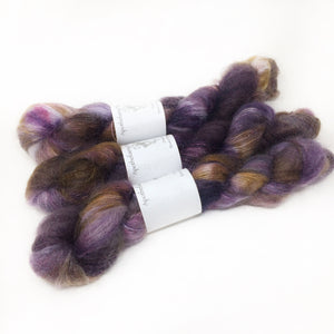 Aughra -  brushed mohair and silk laceweight