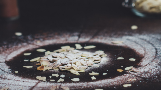How to prepare almond flakes.