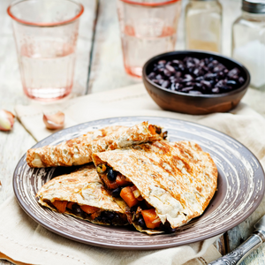 Black Bean and Butternut Quesadillas