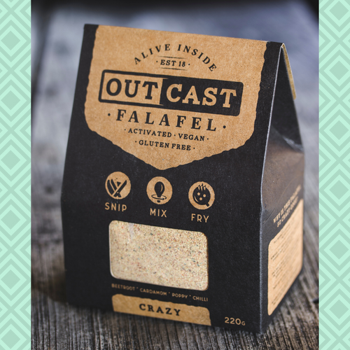 Outcast Crazy Falafel Mix