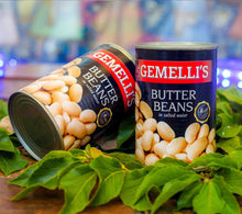 Canned Butter Beans - 400g in Salt Water