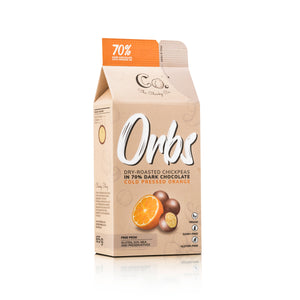 Orbs | 70% Dark Chocolate Orange - 65g