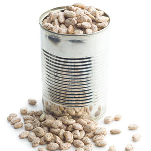 Canned Borlotti Beans - 400g in Salt Water