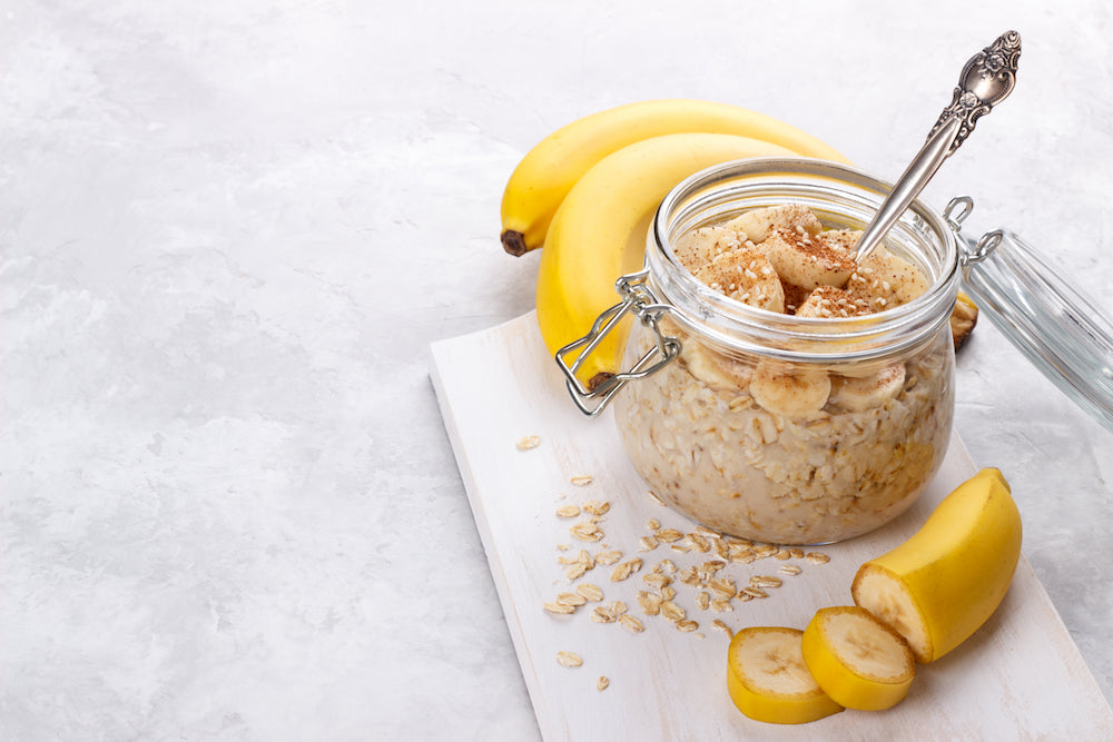 peanute butter overnight oats