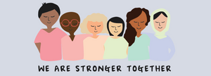 we are stronger together kwohtations banner