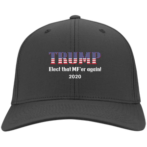 Charcoal Grey Trump Elect That MF'er Again 2020 Hat