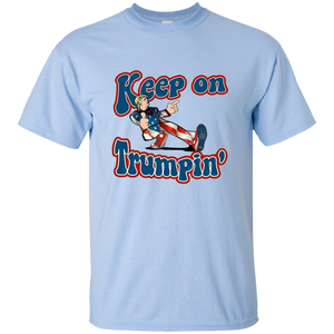 Light Blue Trump Keep On Trumpin Kids T-shirt
