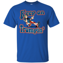 Load image into Gallery viewer, Royal Blue Keep On Trumpin T-shirt