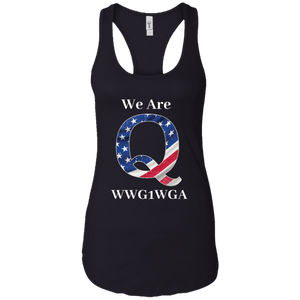 Black We Are Q WWG1WGA Tank Top