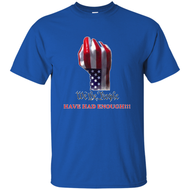 Royal Blue We The People Men's T-shirt