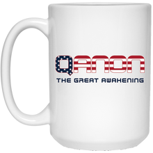 Load image into Gallery viewer, White Qanon The Great Awakening Mug