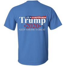 Load image into Gallery viewer, Blue Trump 2020 Keep America Great T-shirt