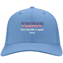 Load image into Gallery viewer, Blue Trump Elect That MF'er Again 2020 Hat
