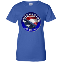 Load image into Gallery viewer, Qanon Where We Go One We Go All Women's T-Shirt