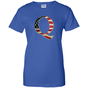 Royal Q American Flag Qanon/Q T-shirt