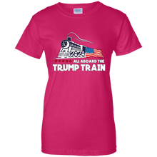 Load image into Gallery viewer, All Aboard The Trump Train Women's T-Shirt