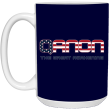 Load image into Gallery viewer, Navy Blue Qanon The Great Awakening Mug