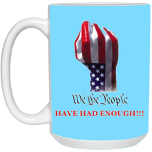 Load image into Gallery viewer, Light Blue We The People Ceramic Mug