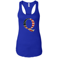 Load image into Gallery viewer, Royal Q American Flag Qanon/Q Tank Top